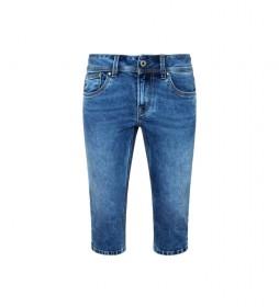 Pantalones Capri Saturn Crop azul