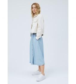 Falda Sia azul claro