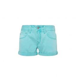 Shorts Siouxie turquesa