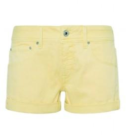 Shorts Siouxie amarillo