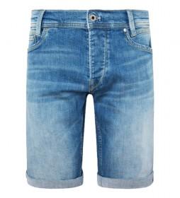 Shorts Spike denim azul
