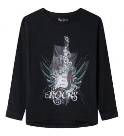 Camiseta Tansim negro