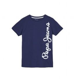 Camiseta Waldo Short marino