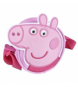 Bolso Bandolera Peppa Pig -14x14x5cm-