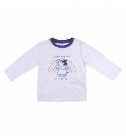 Camiseta manga larga Peppa Pig blanco