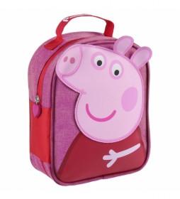 Neceser Comedor Peppa Pig rosa -19x23x8.5cm-