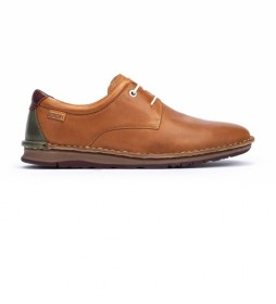 Zapatos de piel Navas M7T marrón