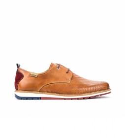 Zapatos de piel Berna M8J marrón