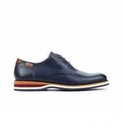 Zapatos de piel Arona M5R azul