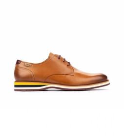 Zapatos de piel Arona M5R marrón