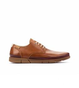 Zapatos de piel Palamos M0R marrón