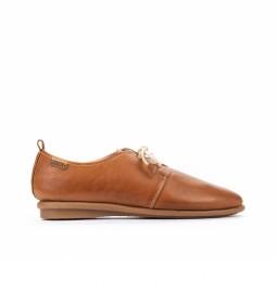 Zapatos de piel Calabria W9K marrón