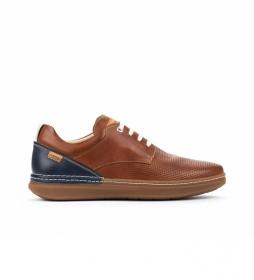 Zapatos de piel Begur M7P cuero