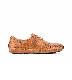 Zapatos de piel Jerez 09Z marrón