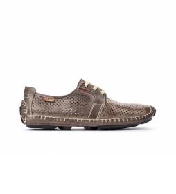 Zapatos de piel Jerez 09Z gris