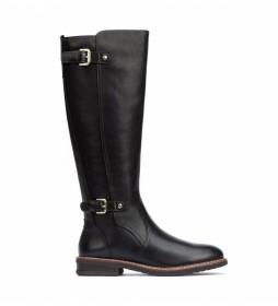 Botas de piel Aldaya negro