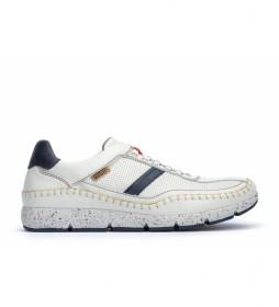 Zapatillas de piel Fuencarral M4U blanco