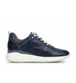 Zapatillas de piel Sella W6Z azul