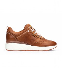 Zapatillas de piel Sella W6Z marrón
