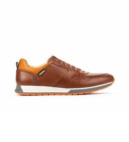 Zapatillas de piel Cambil M5N marrón