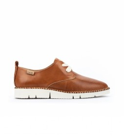 Zapatos de piel Vera W4L-6780 marrón