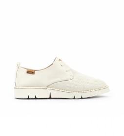 Zapatos de piel Vera W4L-6780 blanco