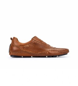 Zapatillas de piel Fuencarral 15A marrón