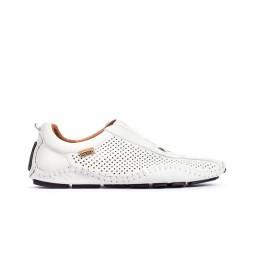 Zapatillas de piel Fuencarral 15A blanco