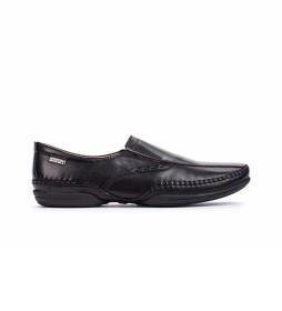 Zapatos de piel Puerto negro