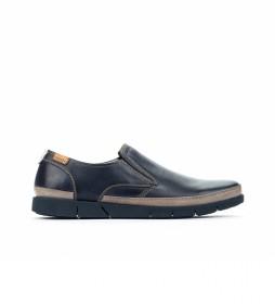 Zapatos de piel Palamos M0R azul
