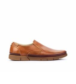 Zapatos de piel Palamos MOR marrón