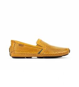Zapatos de piel Jerez 09Z amarillo