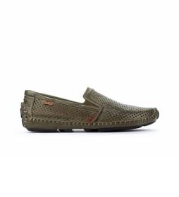 Zapatos de piel Jerez 09Z verde