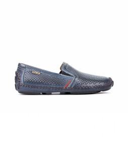 Zapatos de piel Jerez 09Z azul