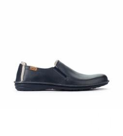 Zapatos de piel  Santiago M8M azul