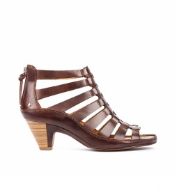 Sandalia de piel Java W5A marrón