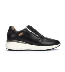 Zapatillas de piel Sella negro