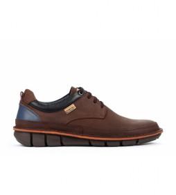 Zapatos de piel Tudela M6J olmo