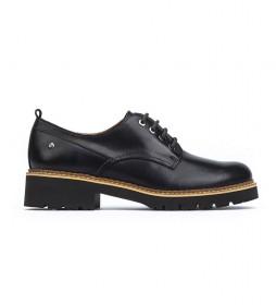 Zapatos de piel Vicar negro