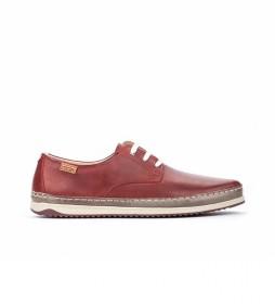 Zapatos de piel Motril M1N marrón arcilla
