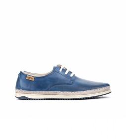 Zapatos de piel Motril M1N azul