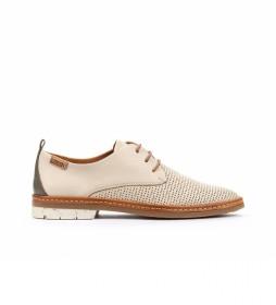 Zapatos de piel Santander W7C beige