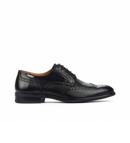 Zapatos de piel Bristol M7J negro