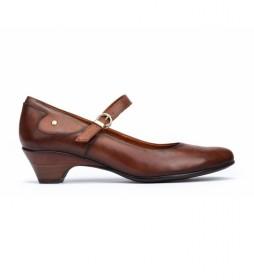 Zapatos de piel Blanca cuero