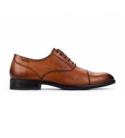 Zapatos de piel Bristol M7J  brandy
