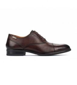 Zapatos de piel Bristol M7J olmo