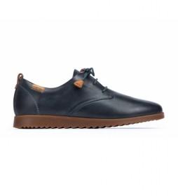 Zapatos de piel Mallorca marino