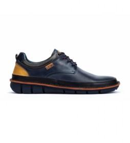 Zapatos de piel Tudela marino
