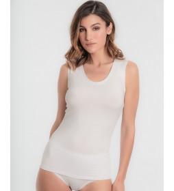 Camiseta térmica Princesa Termaltech blanco