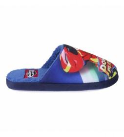 Zapatillas De Casa  Power Players azul